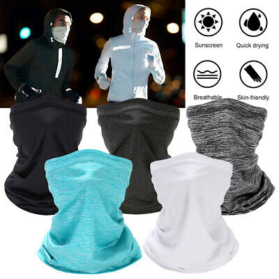 Activated Carbon Cycling Face Cover W/ 5 Layer filter Super Anti-Dust Fog Shield