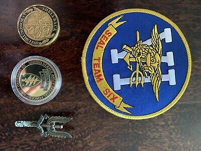 SF/seals/ SAS' Grouping' Patch Coin & Badge Etc