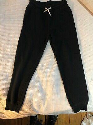 Boys Jogging Bottoms Age 10-11 Black H&M