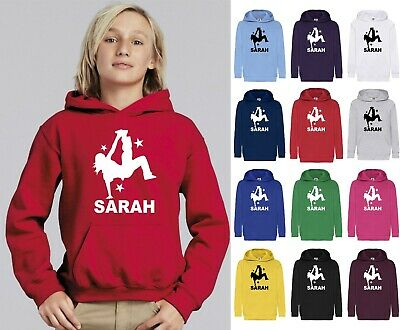 Personalised Hoodie Street Dance Hip Hop Dancing Girls Kids Child Gift Jumpers