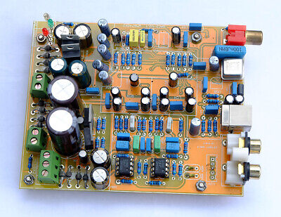 Finished WM8740+DIR9001 DAC USB input Power supply with coaxial