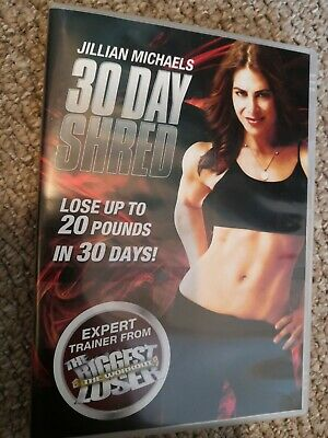 Jillian Michaels - 30 Day Shred (DVD, 2009) Exercise, work out, keep fit