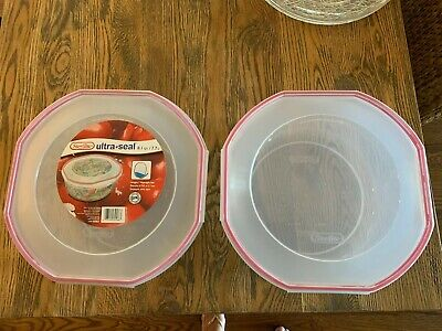Sterilite Ultra Seal 8.1 Quart Plastic Food Storage Bowl Container (2 Pack)