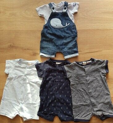 Baby Boys Spring Summer Clothes Bundles Rompers H&M Next 3-6 Months