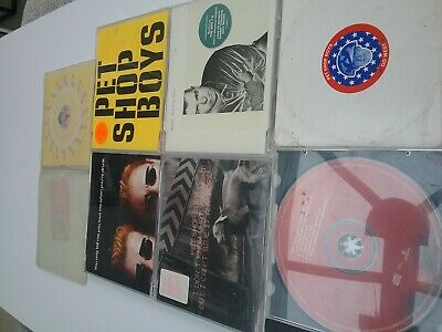 PET SHOP BOYS - JOB LOT / BUNDLE / SET / COLLECTION x 7 CD SINGLES ALL LISTED