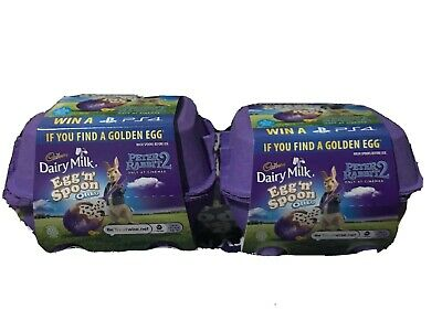 Cadbury Dairy Milk Egg 'n' Spoon Chocolate Easter Egg- Oreo AND Mousse X 2 Box