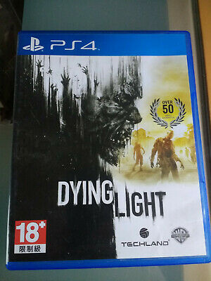 Dying Light for Sony PlayStation 4 (PS4) Zombie Parkour Survival Horror Game