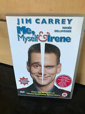Me, Myself and Irene DVD (2001) Jim Carrey, Farrelly (DIR) cert 15 Comedy Funny