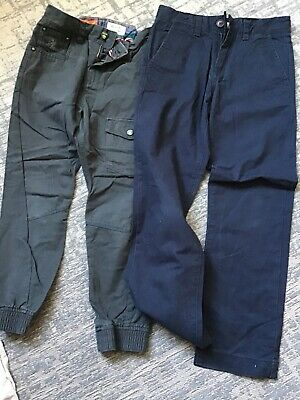 Two Pairs Of Boys Trousers, Next Age 8 Years, Zara Age 7-8 Years