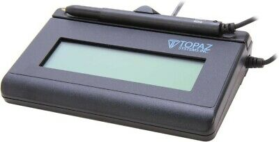 Topaz SignatureGem Signature Pad (T-L462-HSB-R) 1X5 LCD Signature Reader Capture