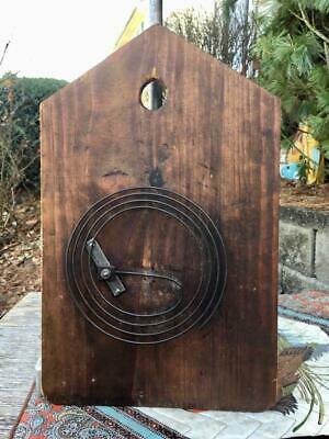 Antique Original Cuckoo Clock Door