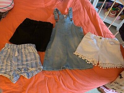 Girls Mixed Summer Clothes Size 9-10 Years