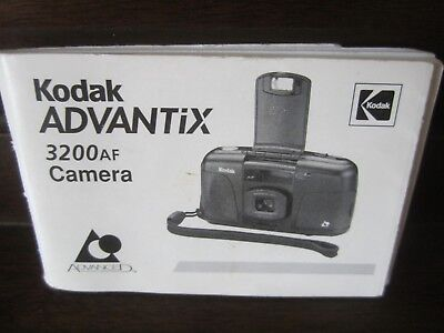 Kodak Advantix 3200 Camera Instruction Manual