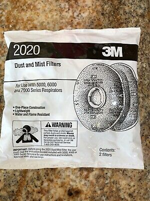 NIP Dust And Mist Filter 3M 2020 2 Per Package