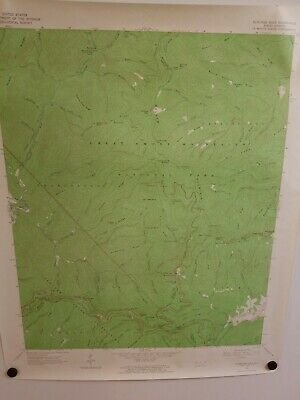 1964 BUNCHES BALD, NC Topographical Map Geological Survey US Interior 27""