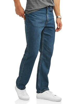 Brand New Men's George Men's Big & Tall Relaxed Fit Jean 42 X 32