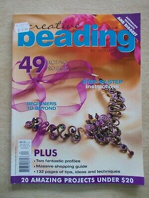 Creative Beading Vol 4 #2~49 Projects~Jewellery~Necklaces~Bracelets~Watches