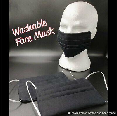 Face Mask -- Triple Layer -- Washable