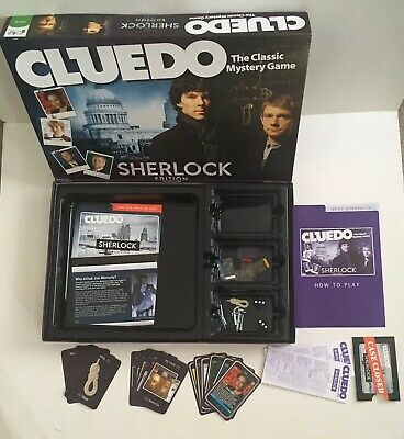Cluedo - The Classic Mystery Game, Sherlock Edition Excellent