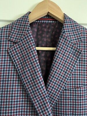 Country Road (Size 38) Classic Fit Wool/Linen Sports Suit Jacket Current Season