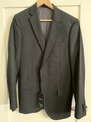 Country Road Size 38 Modern Fit 100% Wool Sports Suit Jacket Current Season NEW