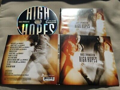 Bruce Springsteen - High Hopes CD 2014 Columbia, Sony Music 8884301546  rf