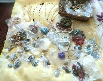 Collection job lot large amount of  costume jewellery 2.5 kg