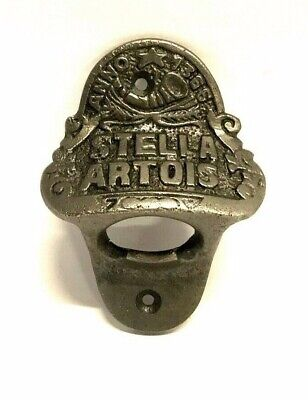 Stella Artois Bottle Opener Bar Mount Beer Cap Remover Wall Mounted