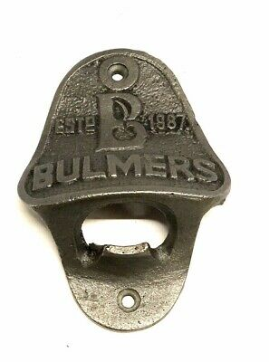 Bulmers Cast Iron Bottle Opener ~ Pub ~ Bar ~ Decor Vintage Style