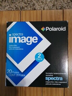 Polaroid Spectra Instant Film 2 Pack 20 Photos New, Sealed box