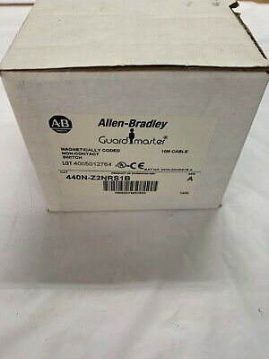 Allen-Bradley 440N-Z2NRS1B Switch, Magnetically Coded, MC1, 2 NC Reed Contacts