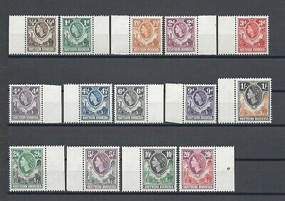 NORTHERN RHODESIA 1953 SG 61/74 MNH Cat £90