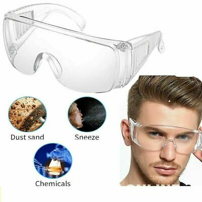 Safety Goggles Eye Protection Anti Fog Clear Vent Protective Glasses Lab Work