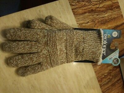 Isotoner Women's SmartDRI Spandex with Quilted Hem Unlined Gloves - Size S