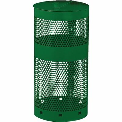 Fido House 10 Gallon Pet Waste Green Receptacle With Lid
