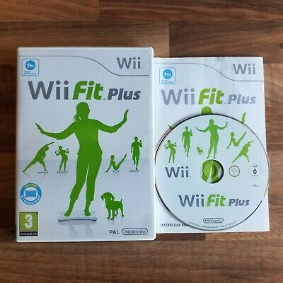 NINTENDO WII Wii Fit Plus (+) - Health & Fitness Game (Game Only)