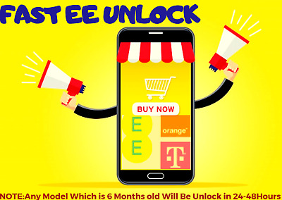 EE T Mobile Orange  Unlock Code Service iphone XS+ XS XR  X, 8,8+,7,7+ 6S, 6S 5