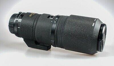 Nikon 200mm F4 Micro Lens in MINT condition boxed Lens Hood & Hoya Pro1 Filter