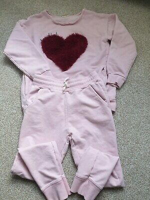 Zara  Girls Tracksuit Outfit Age 7 years