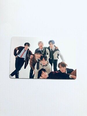 "K-POP BTS New Album ""MAP OF THE SOUL : 7"" Officical BTS PHOTOCARD"