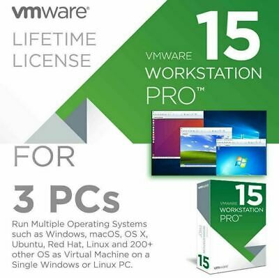 🔥 VMware Workstation 15 Pro 🔥 Lifetime Activated Full Version Fast Delivery ✔️