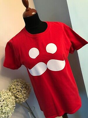 """Mumbo T-Shirt Boy Or Girl Age 12-13 Yrs Pit2Pit 19"""" Red Excellent Condition"""