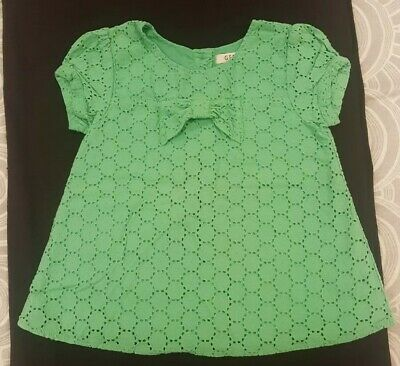 Girls Pretty Green Top From George At Asda Aged 4-5 Years