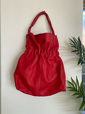 Furla Red Leather Handbag - Great Condition!