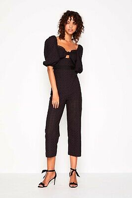 alice McCALL Harlow Jumpsuit Black Size 6/ US XS