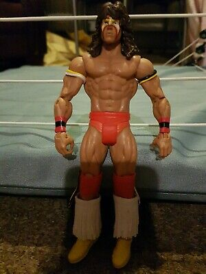WWE WWF Ultimate warrior figure Mattel Basic action figure wrestling figure