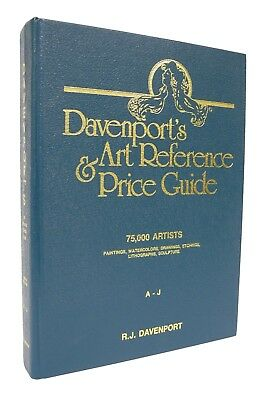 Davenport's Art Reference & Price Guide - A - J - 1989