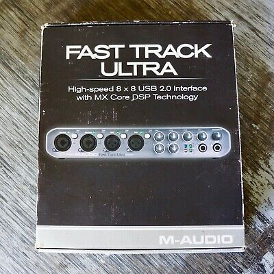 M-Audio Fast Track Ultra 8x8 USB 2.0 Interface - Used (Good Condition)