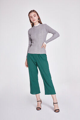 Valleygirl CRYSTAL PANT WITH GATHER AND POCKET