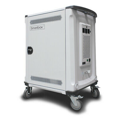 Alogic Smartbox 32 Bay Notebook/Chromebook & Tablet Charging Trolley - Up To
